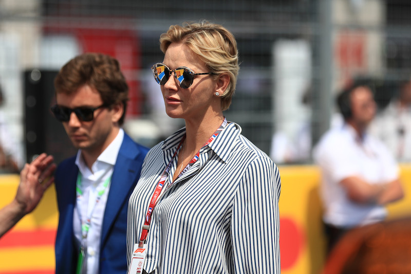 Princess Charlene French Grand Prix