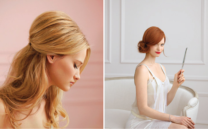Cool 10 Gorgeous Wedding Hair Tutorials Belle The Magazine Short Hairstyles For Black Women Fulllsitofus