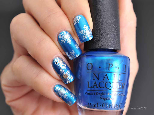 OPI: Venice the Party? ( Venice Collection ), スタンピングネイル