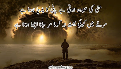 Ali Zaryoun Poetry in Urdu