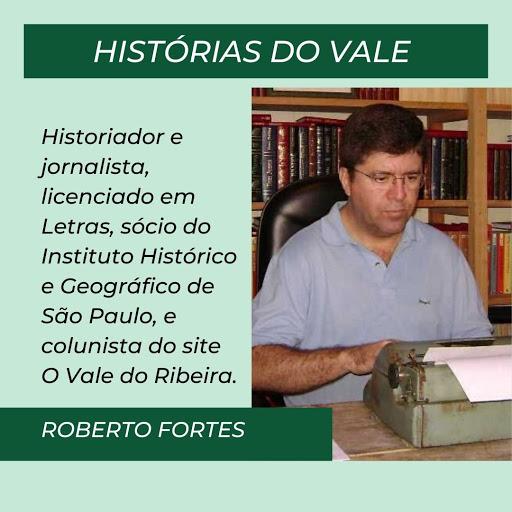 Escritor Roberto Fortes