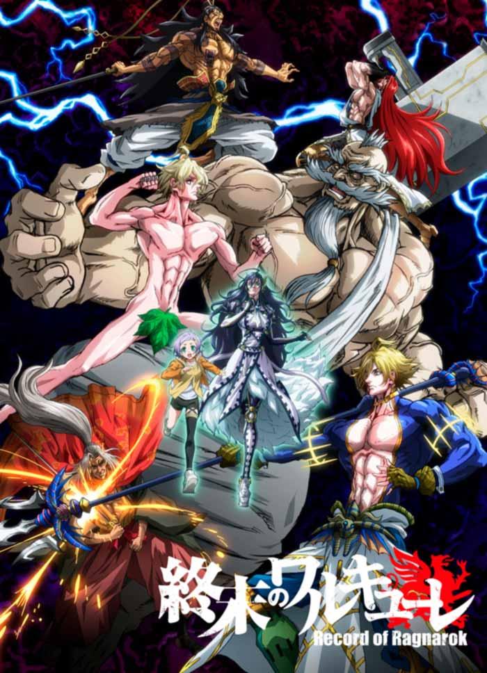 Shuumatsu no Valkyrie: Record of Ragnarök anime - poster