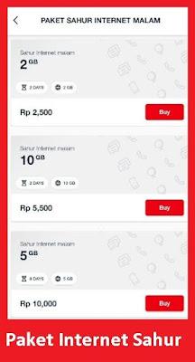 Paket sahur telkomsel adalah paket yang dapat kamu beli pada jam jam tertentu yang diguna Cara Mengaktifkan Paket Internet Sahur Ramadhan Telkomsel Terbaru