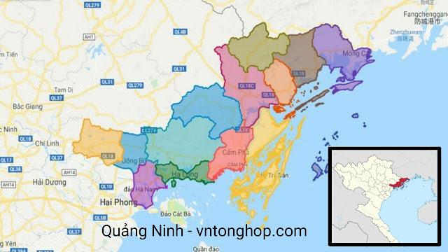 Tỉnh nào ở Việt Nam có nhiều thành phố nhất? Quảng Ninh