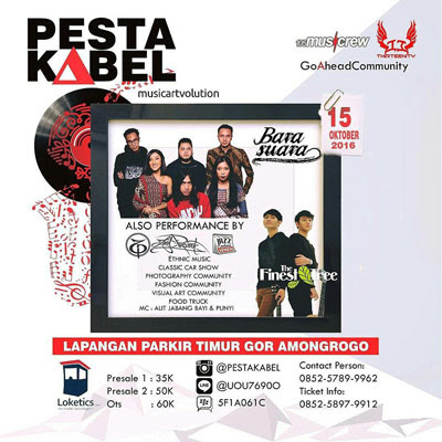 Pesta Kabel Musicartvolution – Yogyakarta
