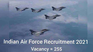Recruitment of Various Posts in Indian Air Force, Group C