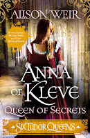 Anna of Kleve - Queen of Secrets by Alison Weir cover