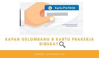 Daftar Kartu Prakerja Gelombang 8, Login www.prakerja.go.id