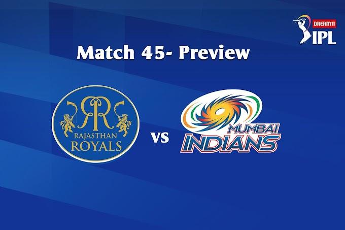 जानिए कौन जीतेगा आज का मैच ? RR vs MI 25th October 2020