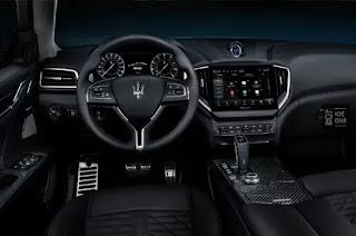 مازيراتي جيبلي 2021.Maserati Ghibli Hybrid 2021