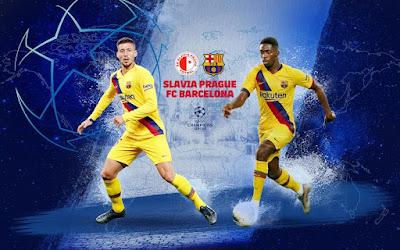 مشاهدة مباراة برشلونة وسلافيا براج