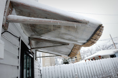 snow weight awning bow diy