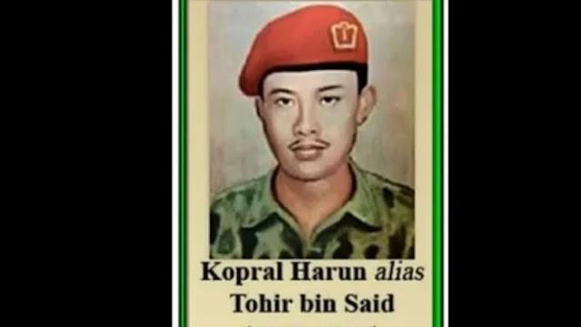 Surat Terakhir Kopral Harun, Prajurit Marinir TNI yang Mati Digantung