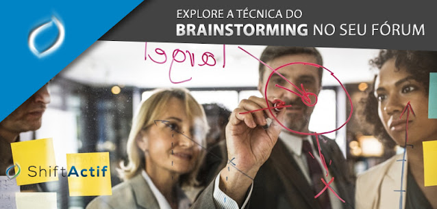 A técnica do brainstorming para sua comunidade