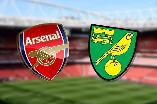 Arsenal VS Norwich on K24 Tv photo