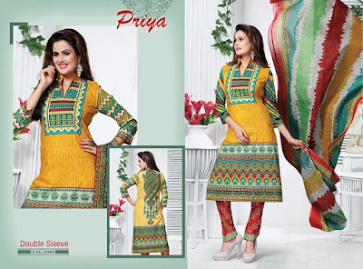 Fashiondiya Priya02 Cotton Printed Dress Material