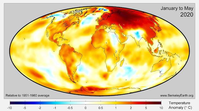 سيبيريا تحترق بدرجة حرارة وصلت إلى 100