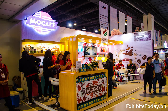 Mocafe Exhibition Booth