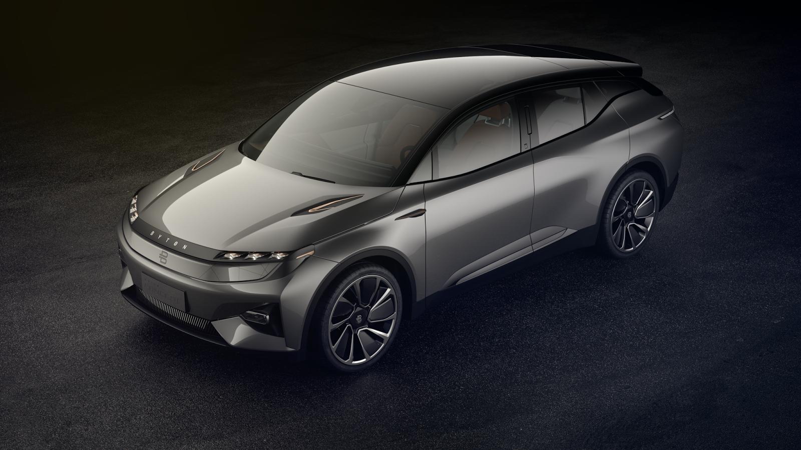 BYTON Ein intelligenter elektrischer SUV feiert Weltpremiere | Elektromobilität Galore