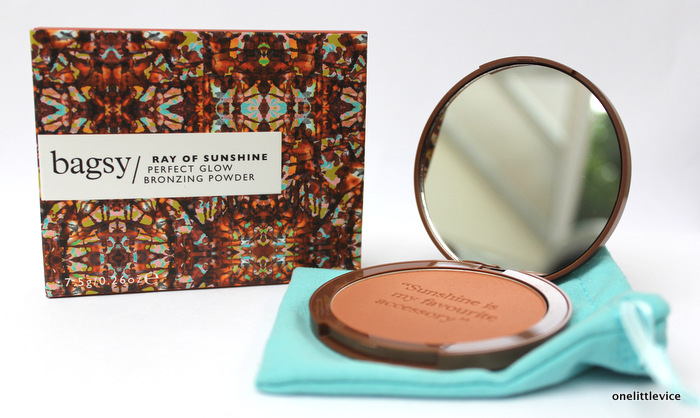 one little vice beauty blog: handbag friendly bronzer from feelunique