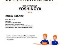 lowongan kerja crew gudang yoshinoya surabaya