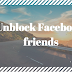 How to Unblocked a Blocked Facebook Friends | Unblock People On Fb Step by Step