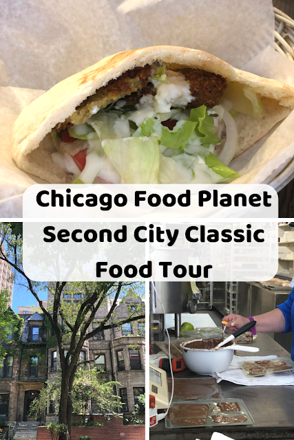 Chicago Food Planet  Second City Classic Food Tour