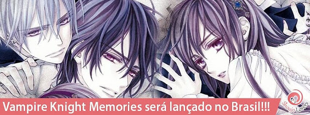 Vampire Knight Memories será lançado no Brasil!!!