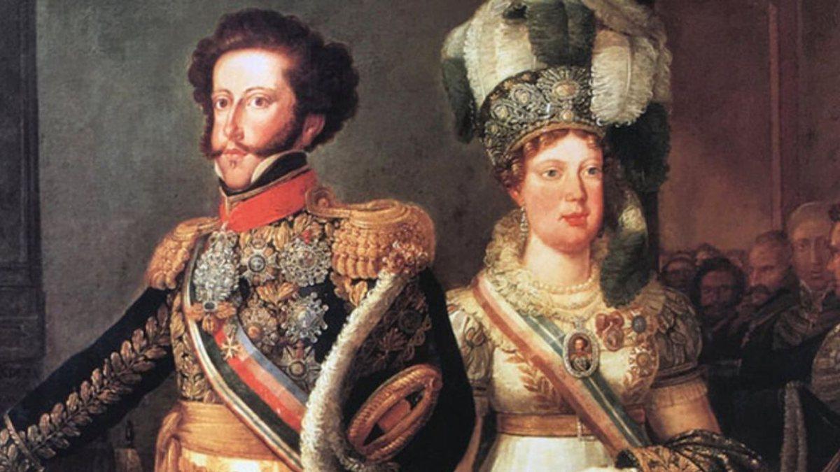Leopoldina e Dom Pedro