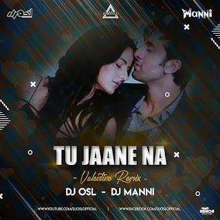 TU JAANE NA - VELENTINE REMIX - DJ OSL X DJ MANNI