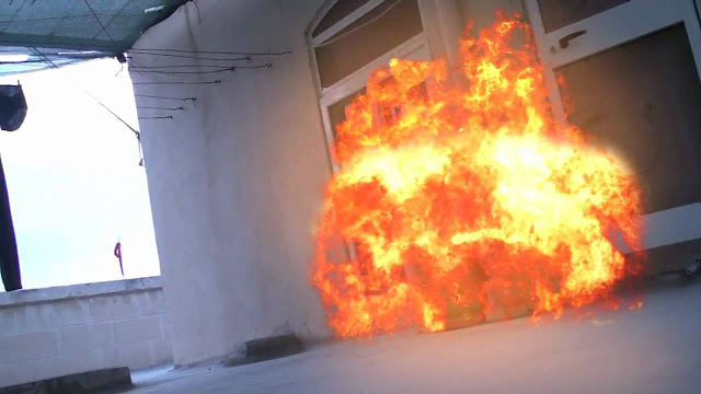 Gas cylinder explodes in Delta home, injures couple