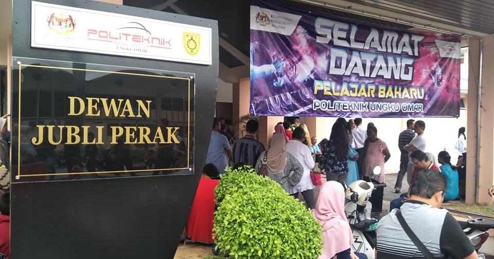 Iman Mendaftar Di Politeknik Ungku Omar Part 2 Alam Sari Di Tanah Jauhar