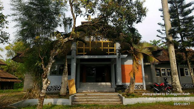 Foto Kantor Balai Pengelolaan Hutan Wilayah IV di Tasikmalaya.