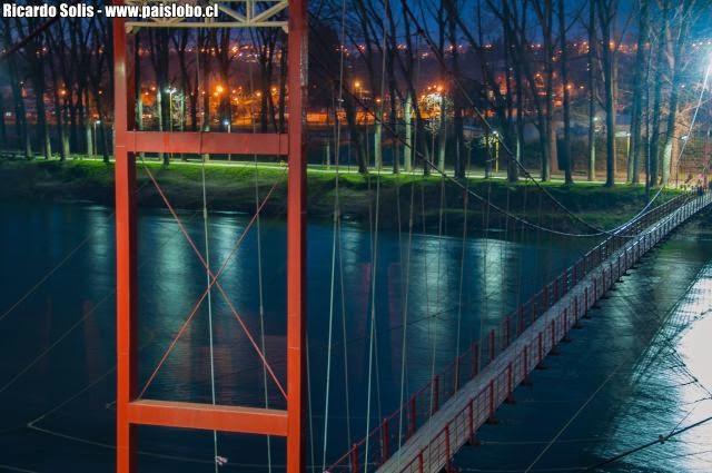 Osorno: logran impedir que un hombre se lance al río Rahue