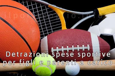 spese sportive detraibili