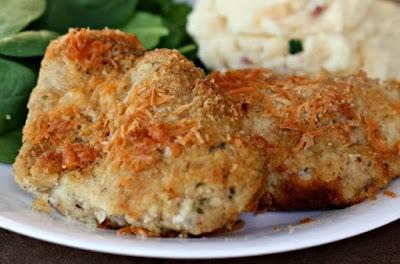 دجاج بارميجان مخبوز