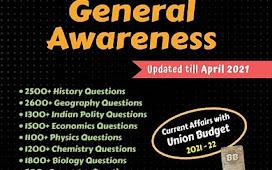 Black Book of General Awareness pdf