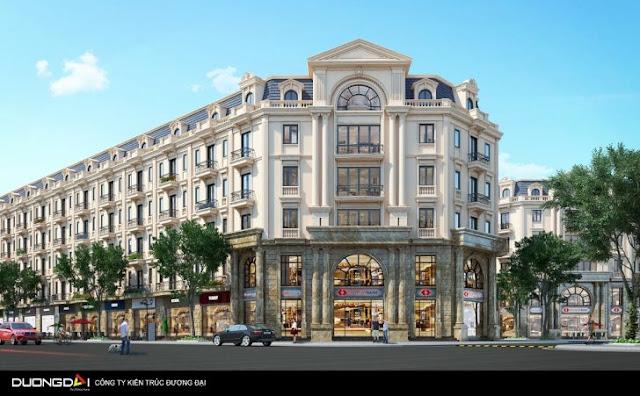 Thiết kế Shophouse Đồng Kỵ Lovera Garden