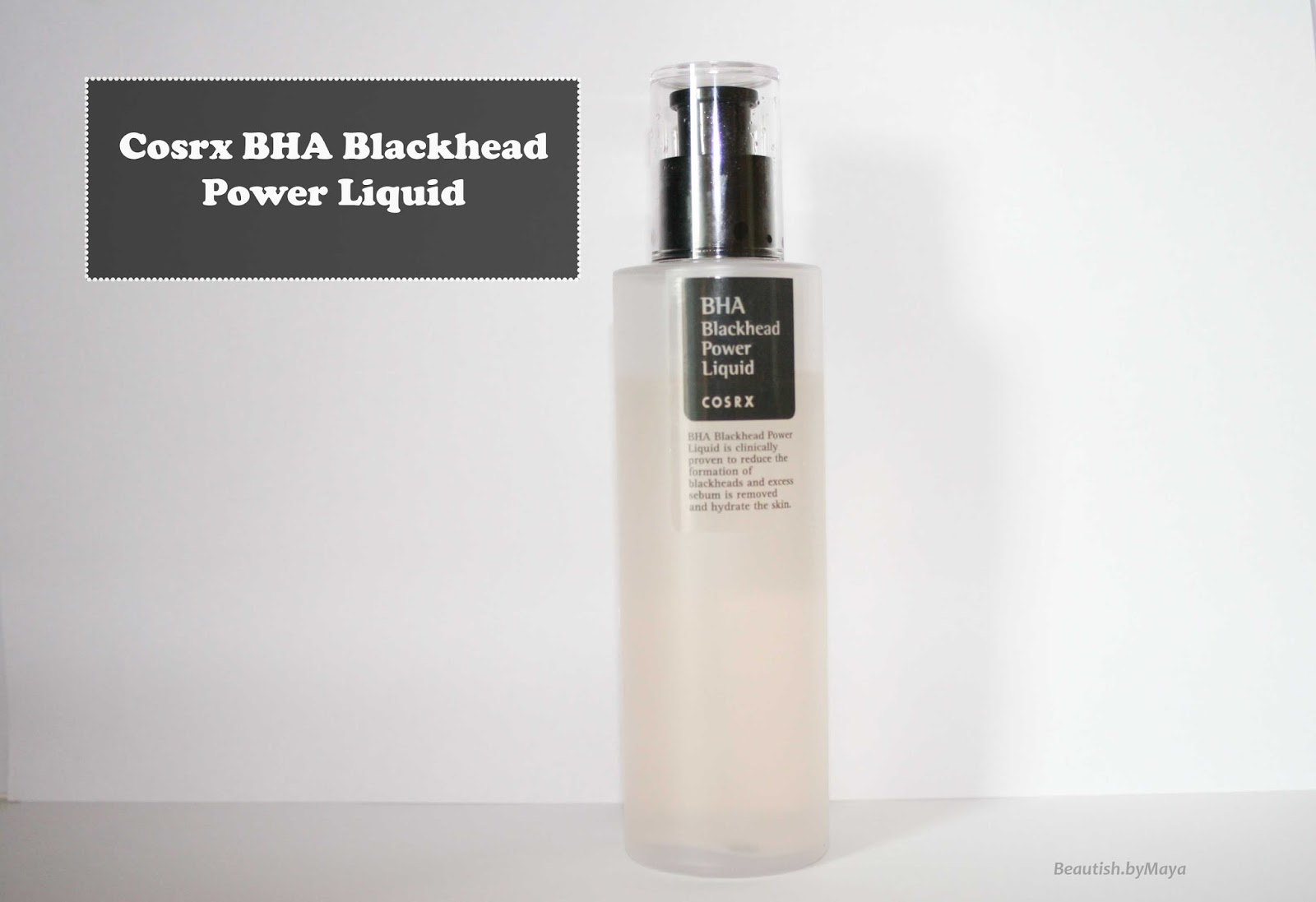 BHA Blackhead Power Liquid by cosrx #12