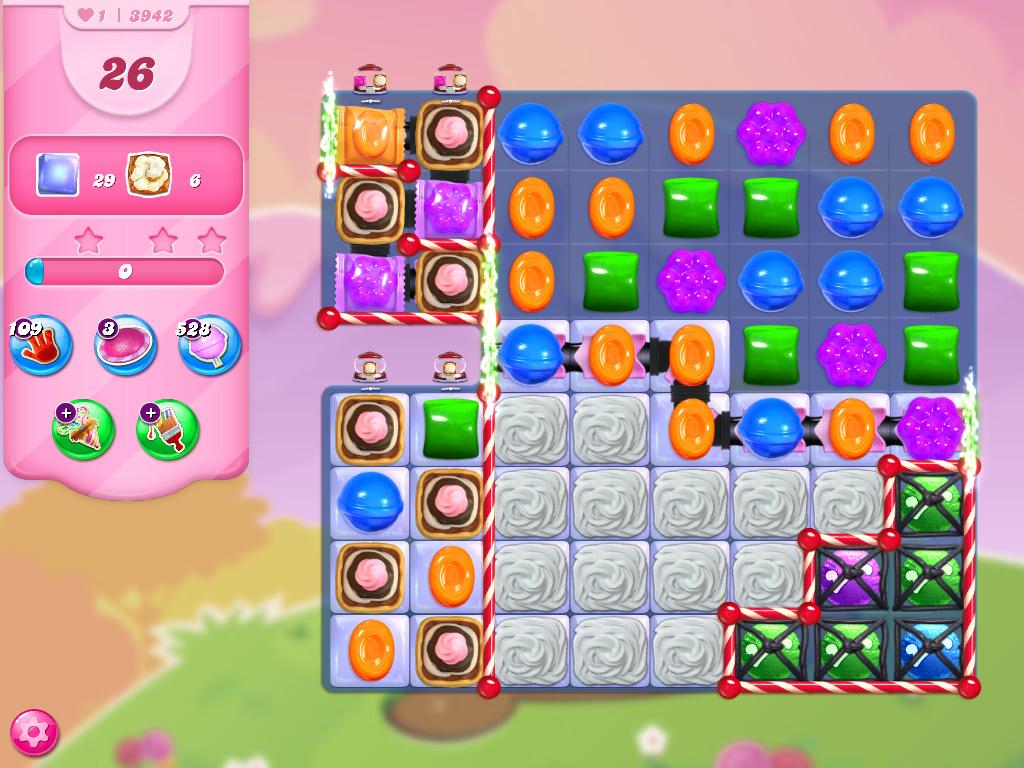 Candy Crush Saga level 3942