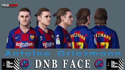 PES 2019 Faces Antoine Griezmann by DNB