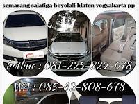 Jadwal Travel Semarang Klaten Jogja | Fajar Utama Travel
