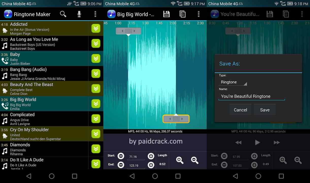 Ringtone Maker Pro Mod Apk 2.7.7 [Paid Version]