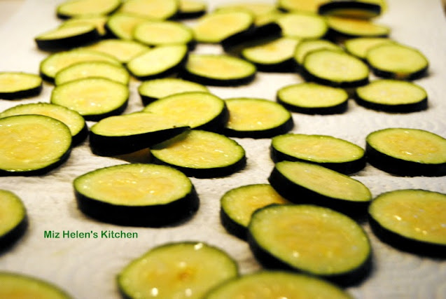 Zucchini & Caramelized Onion Galette at Miz Helen's Country Cottage