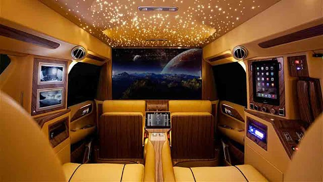 Top 10 Luxury Vans with Business Jet Interiors