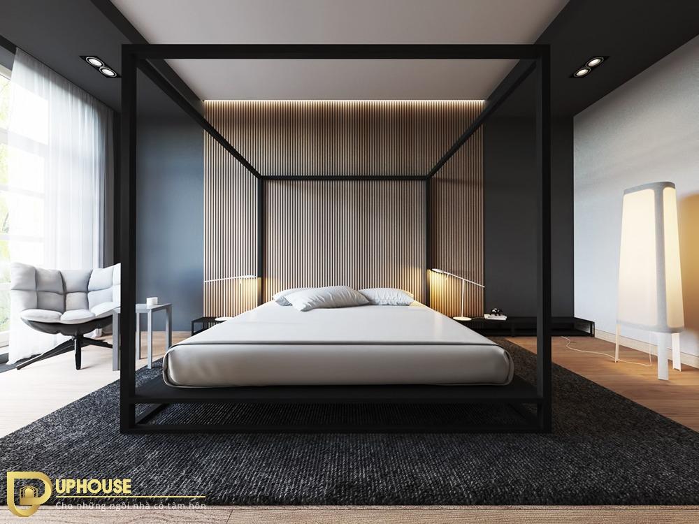 Phòng ngủ màu đen 03