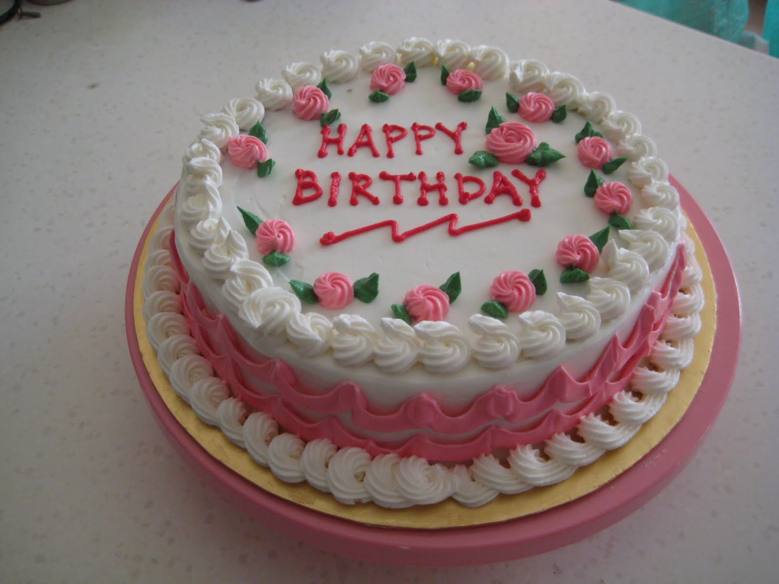 Simple Birthday Cake Nin S Kek Kecik