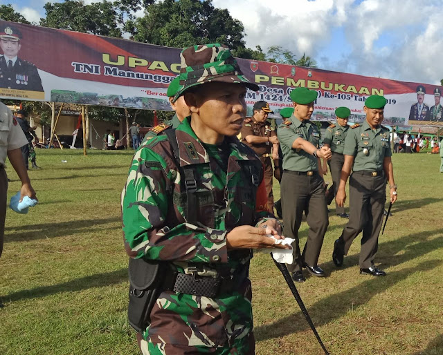 Dandim 1424/Sinjai : Semangat Gotong Royong di TMMD, TNI Bersama Masyarakat Membangun Bangsa.
