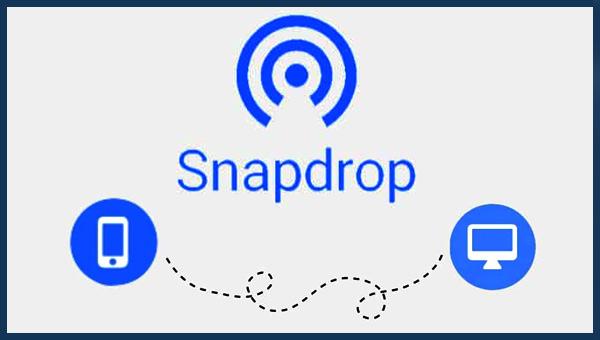 كيفية نقل الملفات بين الكمبيوتر و الهاتف و العكس بأسرع طريقة و في وقت وجيز SnapDrop