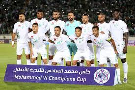 مباراة الرجاء ومولودية الجزائر hd